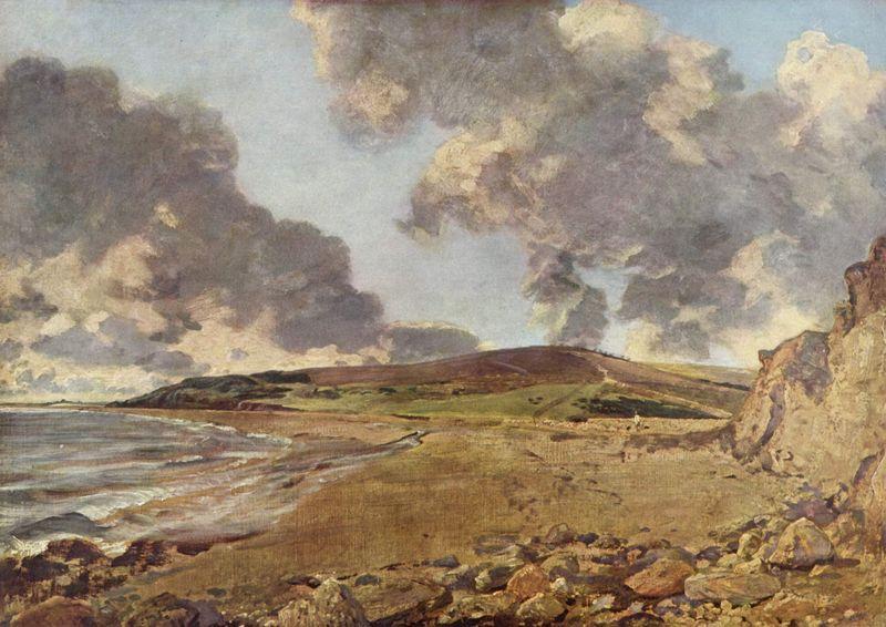 Constable (1776-1837) Weymouth Bay